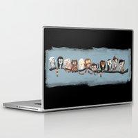 doctor Laptop & iPad Skins featuring Doctor Hoo - Painted Version by pupukachoo