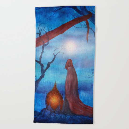 Tales of Halloween IV Beach Towel