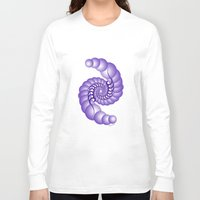 hook Long Sleeve T-shirts featuring Julia's Hook by artsytoocreations