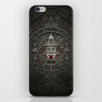 calendars iPhone & iPod Skins featuring Stone of the Sun I. by Dr. Lukas Brezak