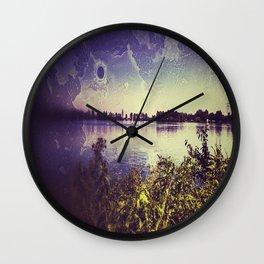Surf lake Laupheim Wall Clock