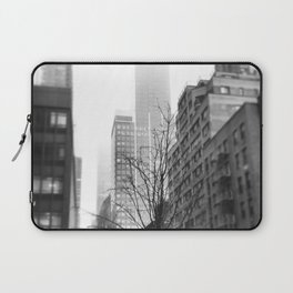 NYC in Fog Laptop Sleeve