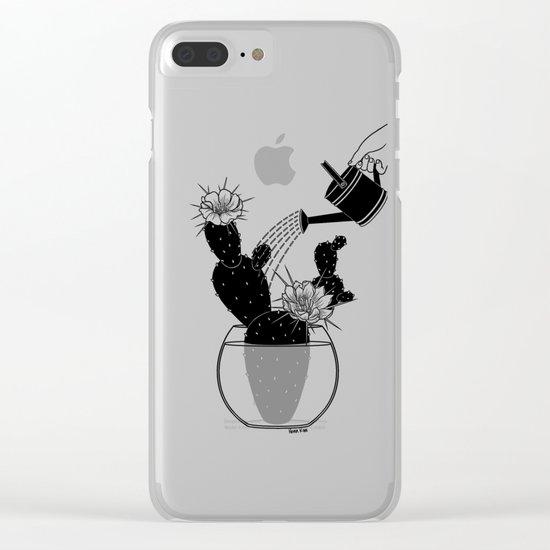 Overlove Clear iPhone Case