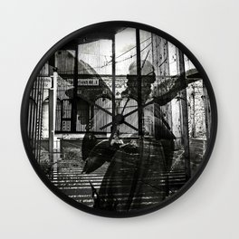 The unexpected arrival of the angels Wall Clock
