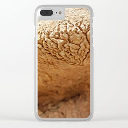 Water lines Clear iPhone Case