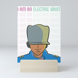 I Am An Electric Griot: Icon Mini Art Print