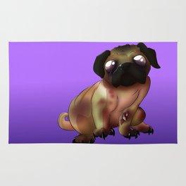 Night of the living Pug  Rug