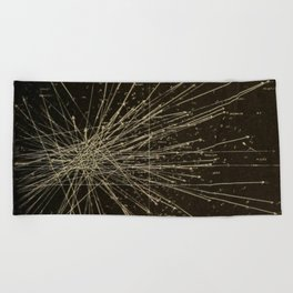 Meteor Shower Beach Towel