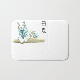 CHINESE ZODIAC (TIGER)  Bath Mat