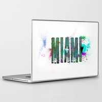miami Laptop & iPad Skins featuring Miami by Tonya Doughty
