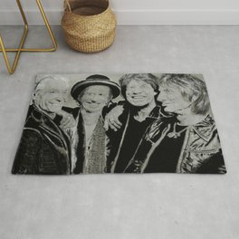 The Rolling Stones Rug