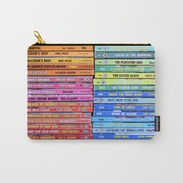 Rainbow Vintage Harlequin Books Carry-All Pouch