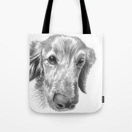 Dogface Tote Bag