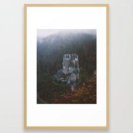 Tiny Moody Valley Framed Art Print