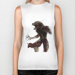 Wild Werewolf  Biker Tank