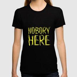 Nobory Here T-shirt