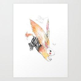 Ethiopian Pegasus Art Print