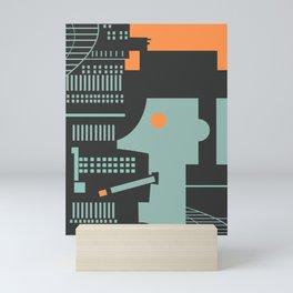 Jazz Man Mini Art Print