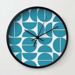 Puzzle Design Bl. Wall Clock