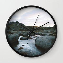 Rams Head Sunrise I Wall Clock