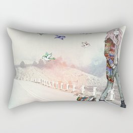 Escape Artist  Rectangular Pillow