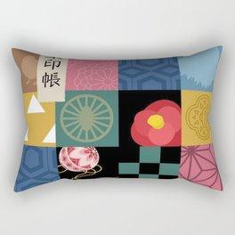 Kimetsu No Yaiba Haori Rectangular Pillow