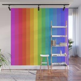 Solid Rainbow Wall Mural