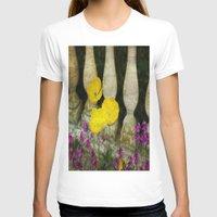concrete T-shirts featuring Concrete Flowers by BeachStudio