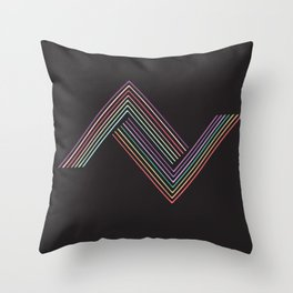 Two Tribes Throw Pillow