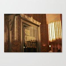 The Chrysler Building Canvas Print
