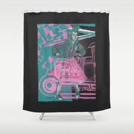 motorjig Shower Curtain