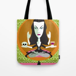 Mid-Century Monster Tote Bag