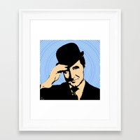 england Framed Art Prints featuring Goodmorning England by Ganech joe