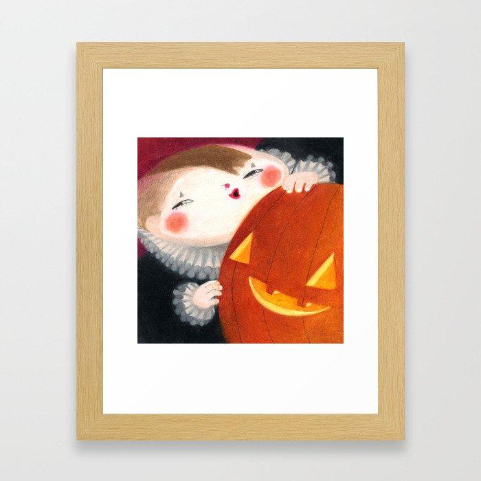 Octobre Framed Art Print
