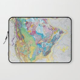 USGS Geological Map of North America Laptop Sleeve