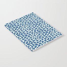 Leopard Print - Classic Blue - Light Notebook