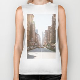 New York City Streets Biker Tank