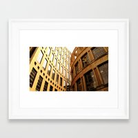 library Framed Art Prints featuring Library  by Ethna Gillespie