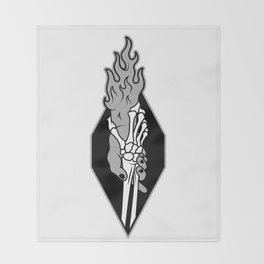Demonkind logo Throw Blanket