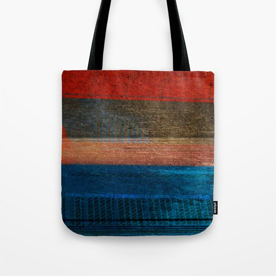 Chalked Filthy And Worn Tote Bag