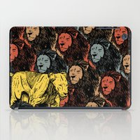 feminism iPad Cases featuring Busting the myths of feminism by Jamie Bryan