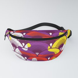 Japanese Patterns 16 Fanny Pack