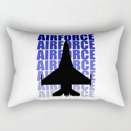 Plane Rectangular Pillow