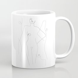 Nude and Naked Coffee Mug
