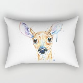 Peekaboo Deer Rectangular Pillow