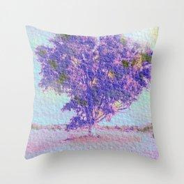La Muleria Tree Throw Pillow