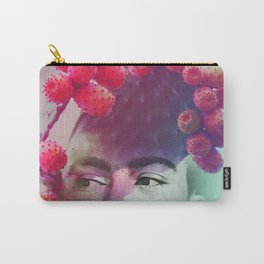 Succulent Frida #buyart #surreal Carry-All Pouch