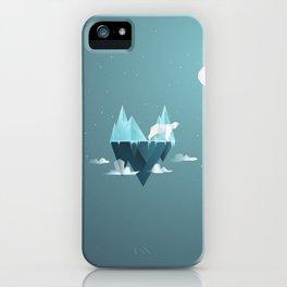 Low Poly Polar Bear iPhone Case