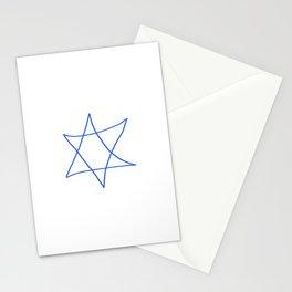 Star of David 18- Jerusalem -יְרוּשָׁלַיִם,israel,hebrew,judaism,jew,david,magen david Stationery Cards