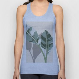 Banana Leaves Unisex Tank Top